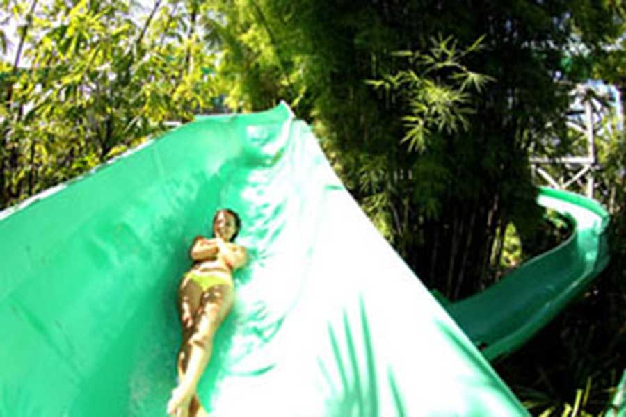 jungle ride, waterbom bali