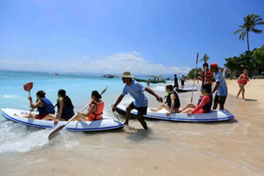 kayaking, lembongan, marine walk
