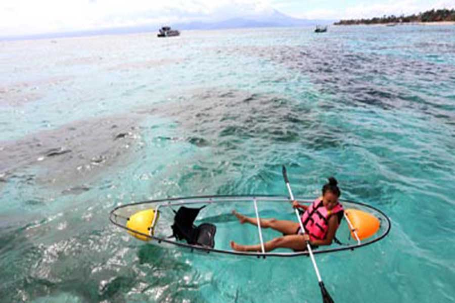kayaking, starfish, lembongan package
