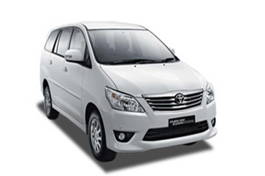 kijang innova, self drive charter