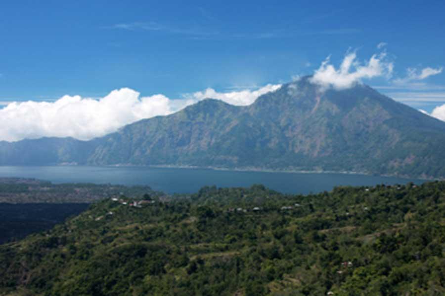 kintamani, batur lake