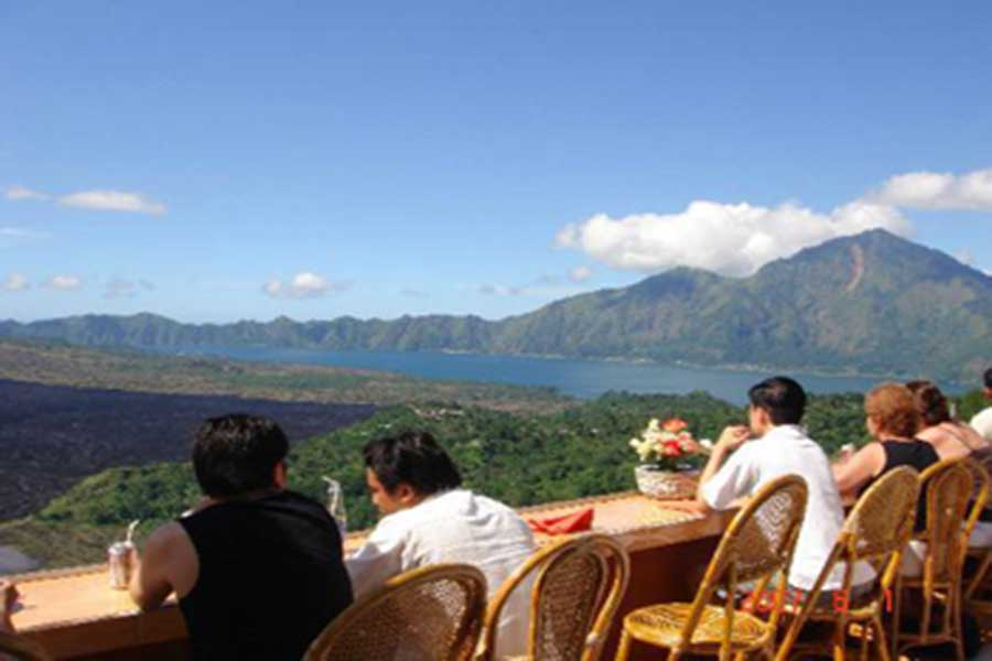 kintamani, lake view, lunch