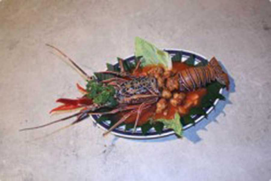 lobster fresh, seafood, dinner, bali, restaurant