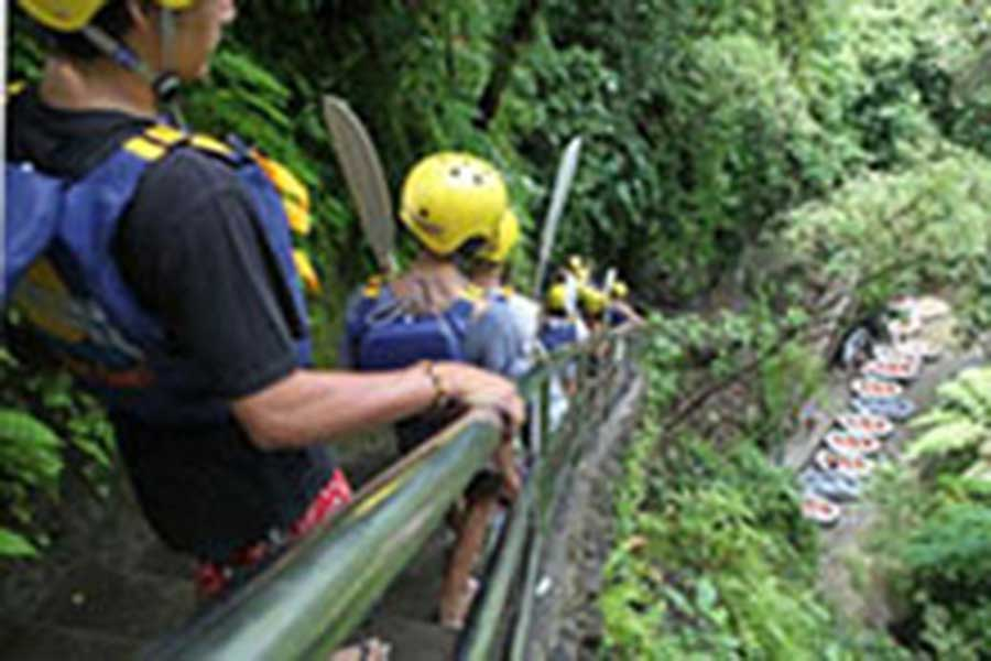 things to do in bali, ayung river rafting, river rafting bali