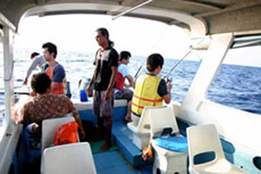 nusa dua fishing trips