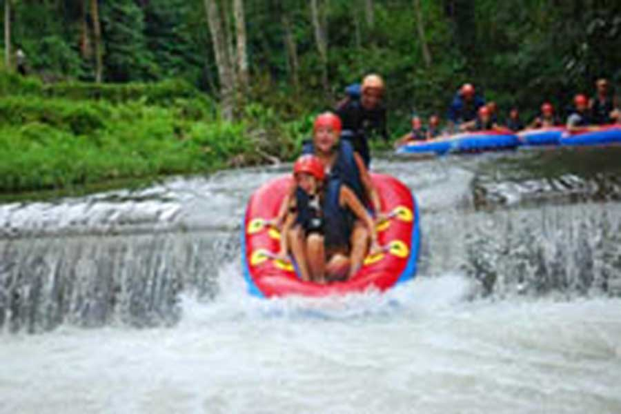 tubing adventure bali, bali river tubing, bali tube, adventure tubing