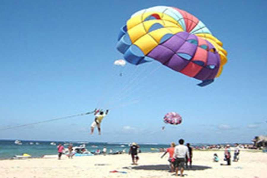 parasailing, bali watersports, water sports in Bali