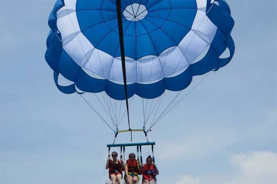 parasailing adventure at bali dolphin adventure