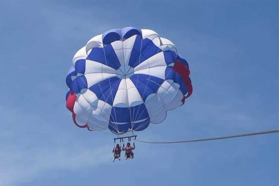 parasailing adventure, nusa dua water sports