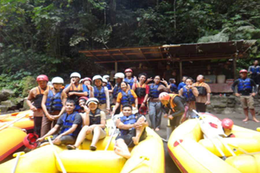 rafting group, payung rafting