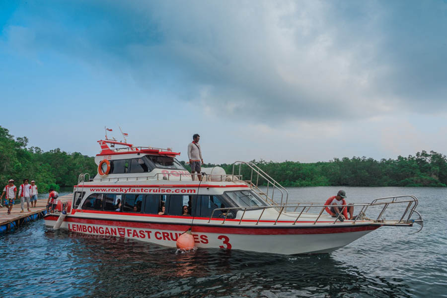 Rocky Fast Boat 3, lembongan fast boat