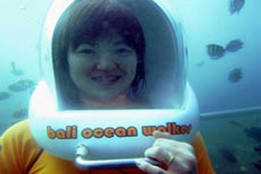 bali ocean walker, seawalker, bali water sports
