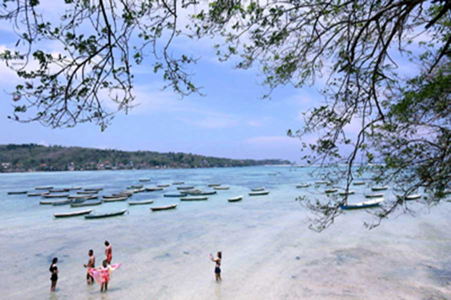 sammada beach club, lembongan island, marine explore