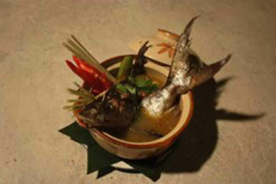 seafood soup, bali, restaurant, dinner