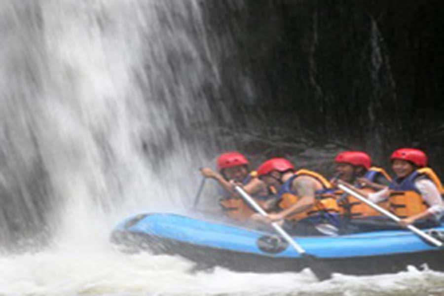 rafting at ayung river, river rafting