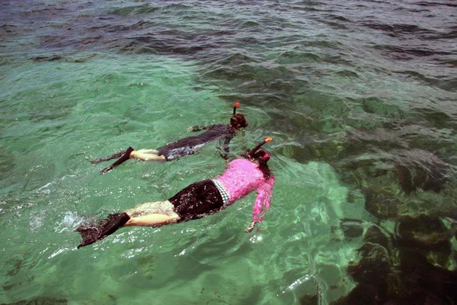 snorkeling, bali water sport, tanjung benoa, dive