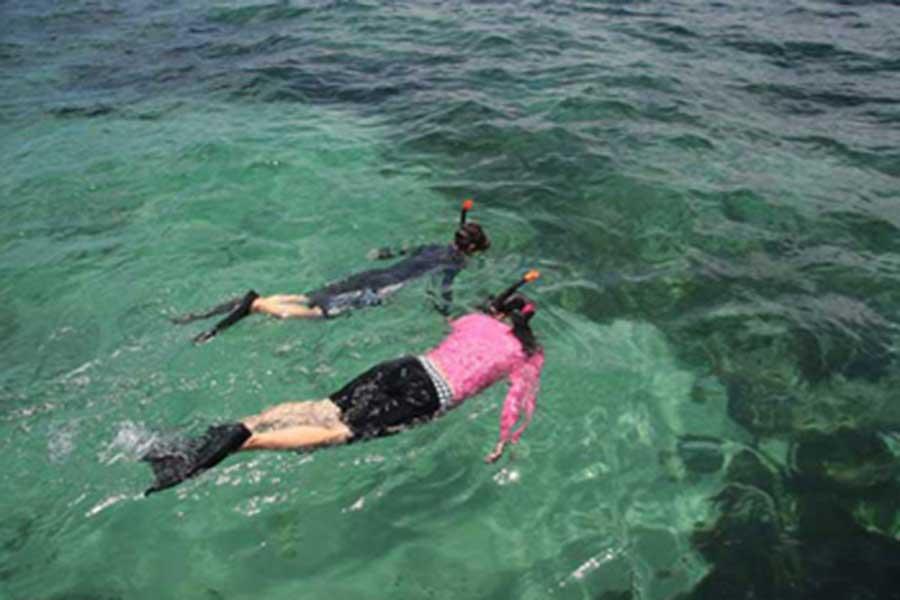 snorkeling, tanjung benoa water sports