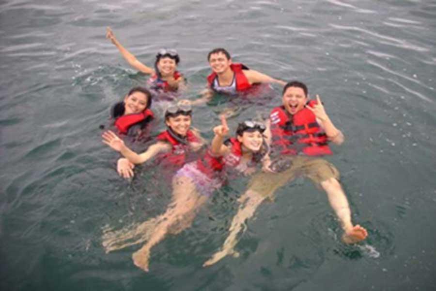 snorkeling, tanjung benoa, water sports