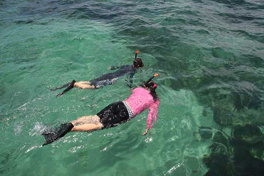 snorkeling, tanjung benoa, nusa dua