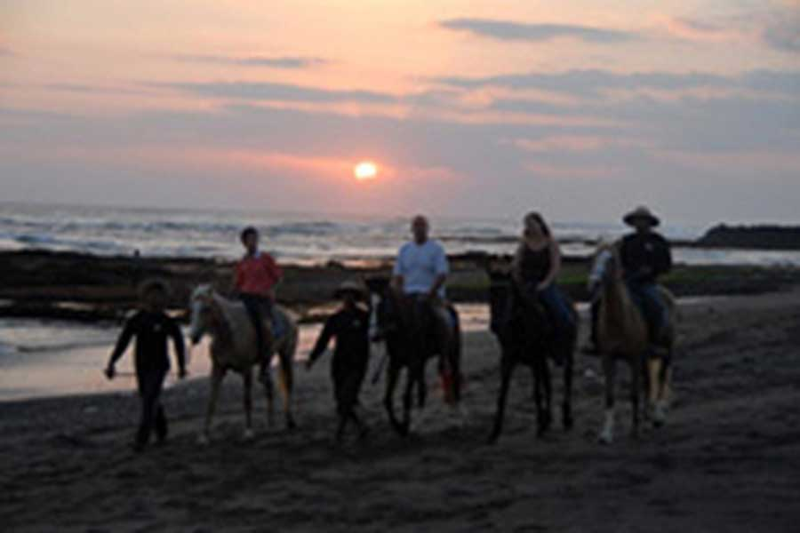sunset horse riding, horse riding, bali horse
