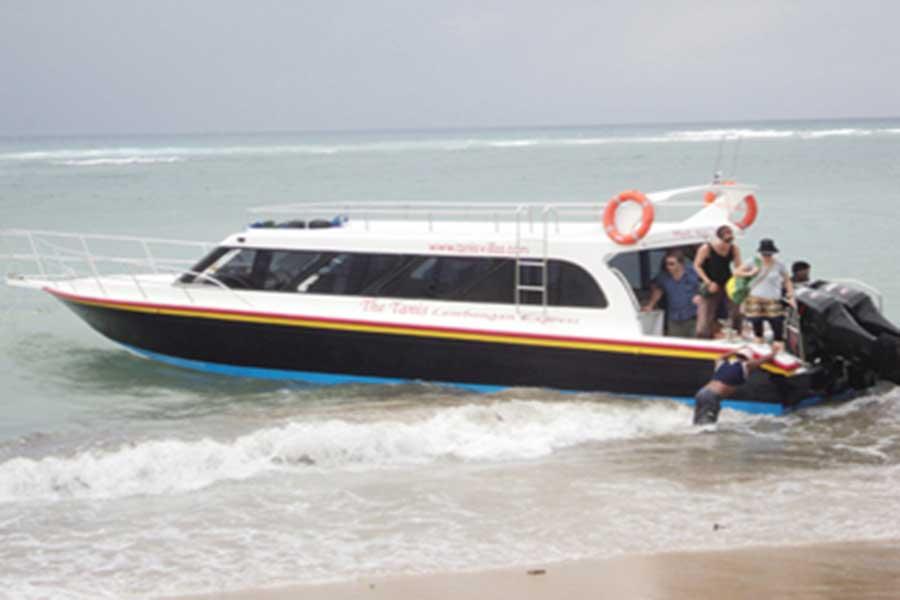 tanis express, fast boat to lembongan