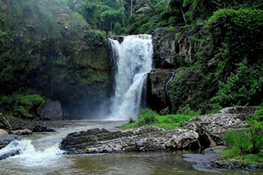 tegenungan, waterfall