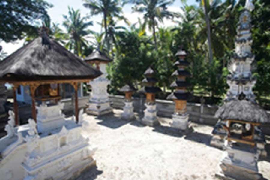 temple village, nusa penida, bali hai cruise