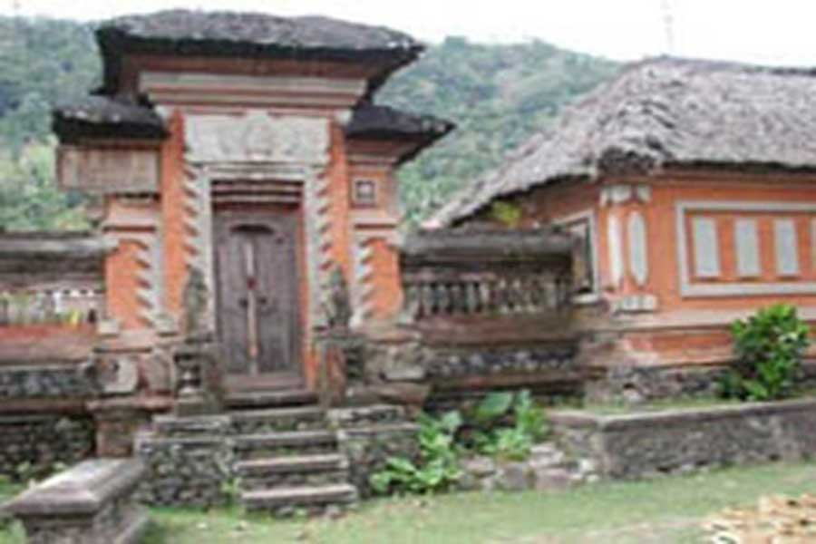 tenganan village bali traditional house