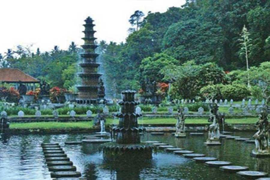 tirta gangga, bali water palace