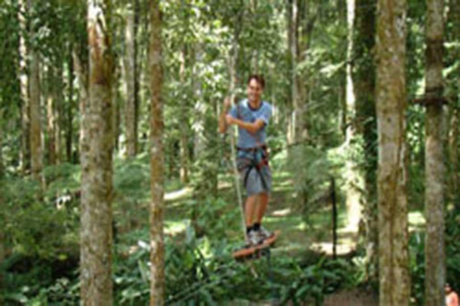 treetop adventure park bali, fun activities