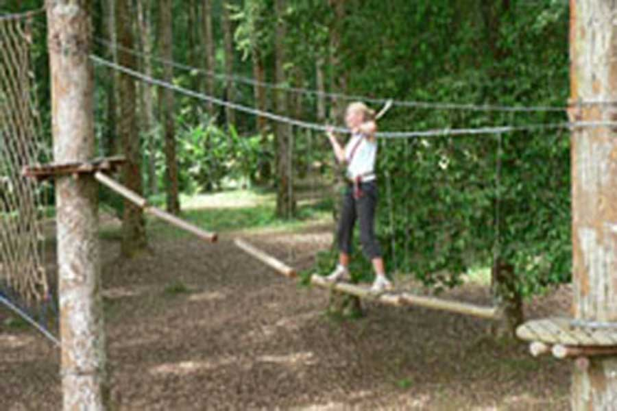 treetop adventure park bali, safety first