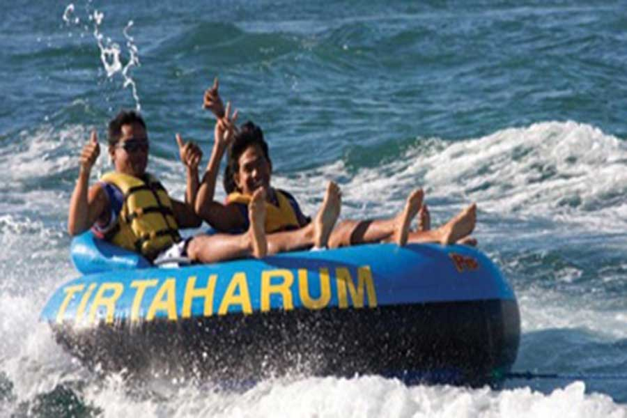Tubing, water sports, benoa tirta harum
