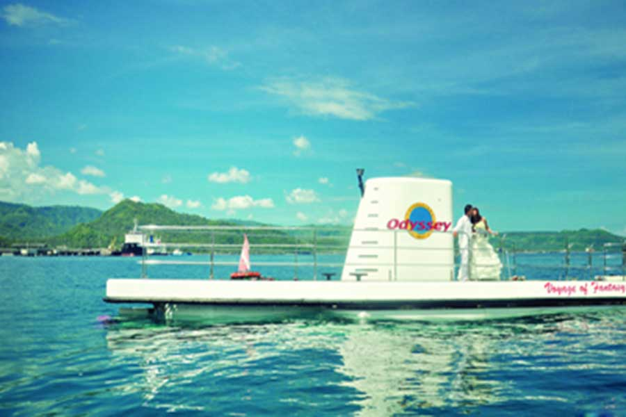 undersea excursion, odyssey submarine, submarine bali