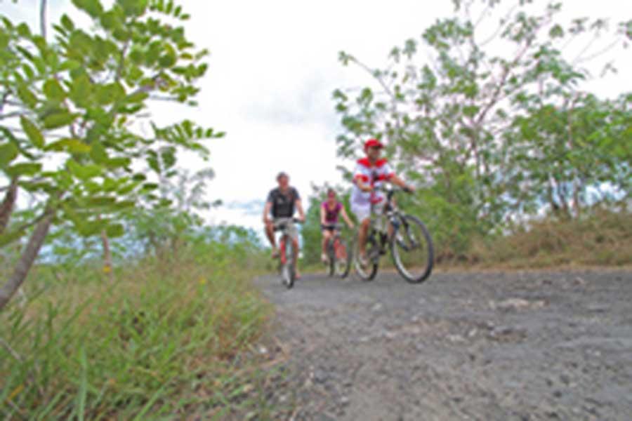 village tour, nusa lembongan, island, bali