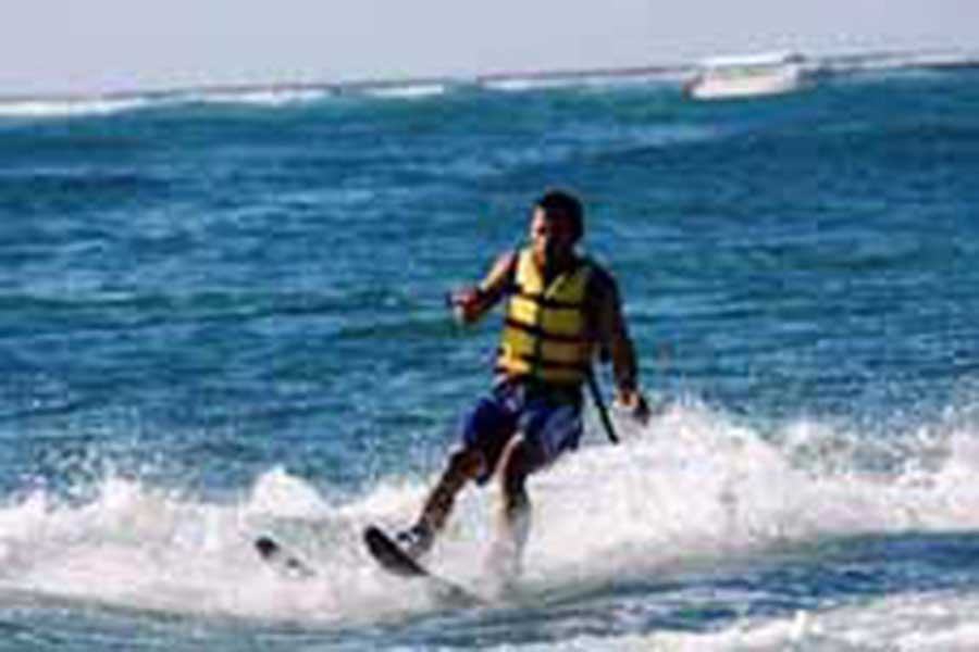 water ski, water sports, bali to do, visiting bali