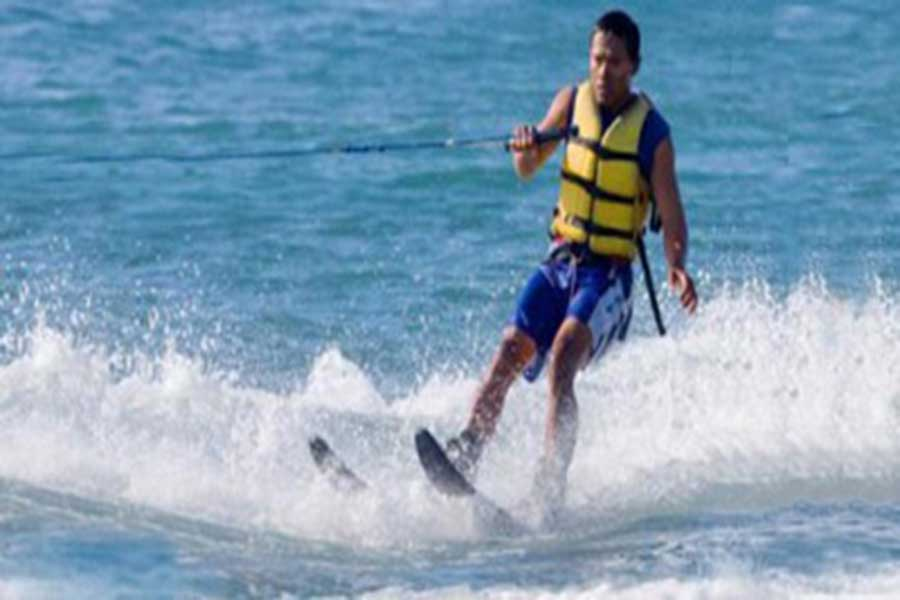 water ski, benoa tirta harum, water sports