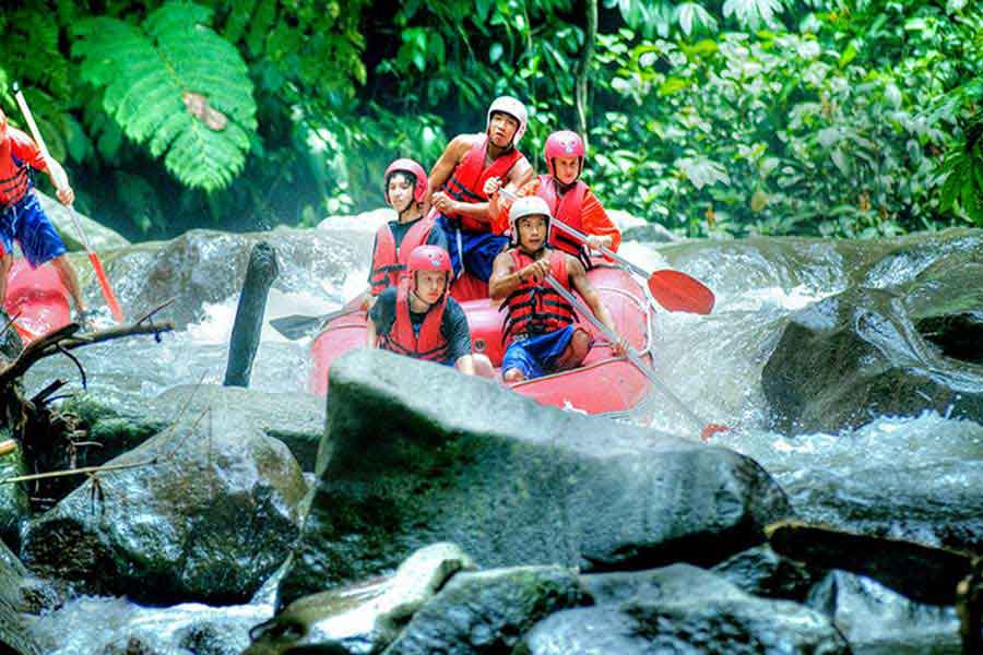 water rafting, ayung river