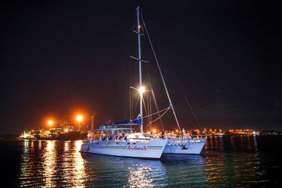 aristocat cruise, evening cruise, bali hai cruise