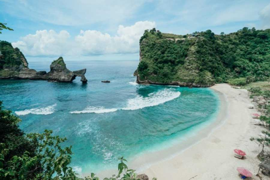 atuh beach, nusa penida east bali tour