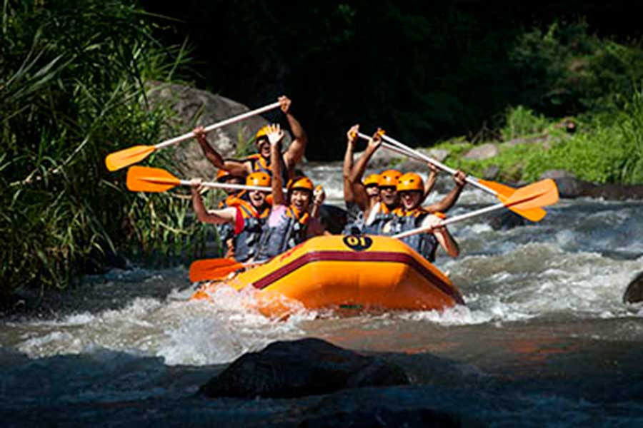 vacation package bali, bali tour package, ayung river rafting