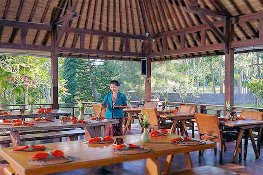 bali elephant camp restaurant