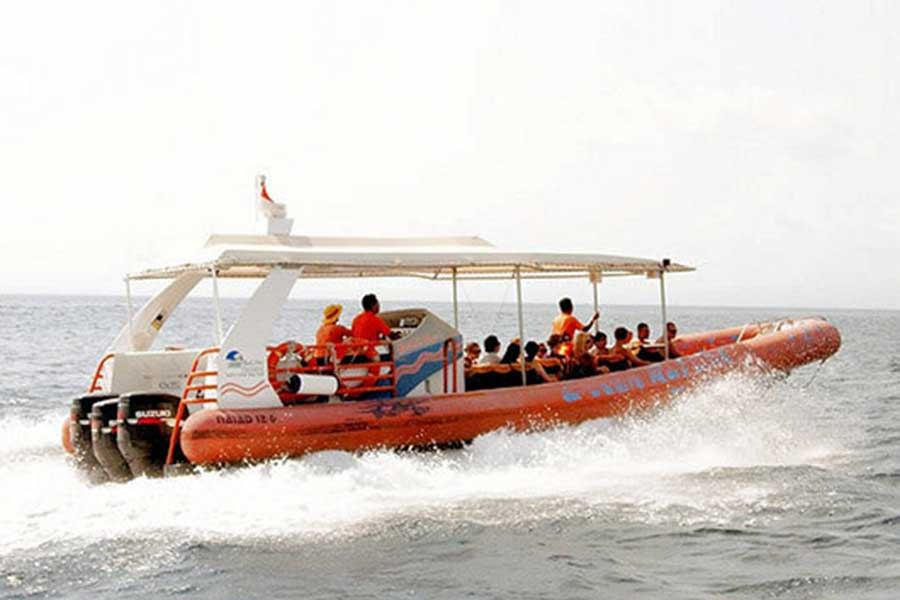 bali hai cruise, high speed ocean rafting cruise