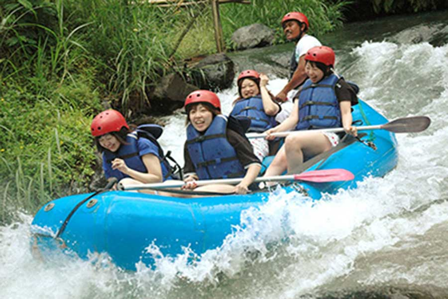 bali international rafting, club aqua, telaga waja river