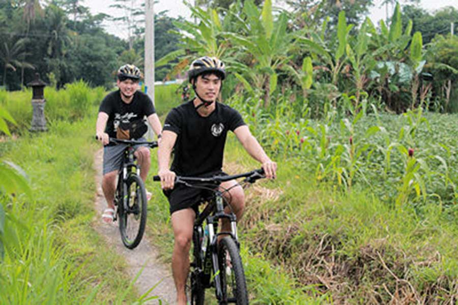 outdoor activities, bali moon bike, cycling tour