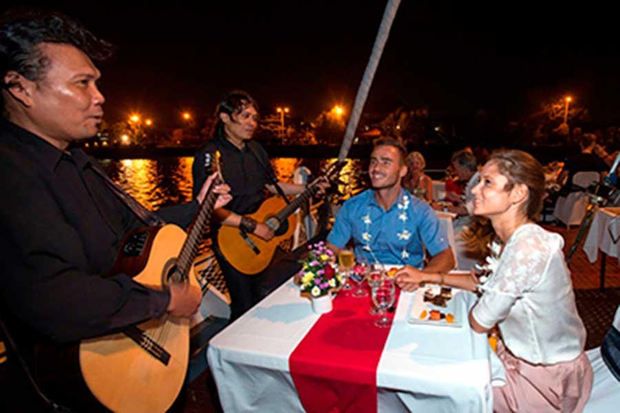 sunset dinner cruise, bali hai, romantic dinner