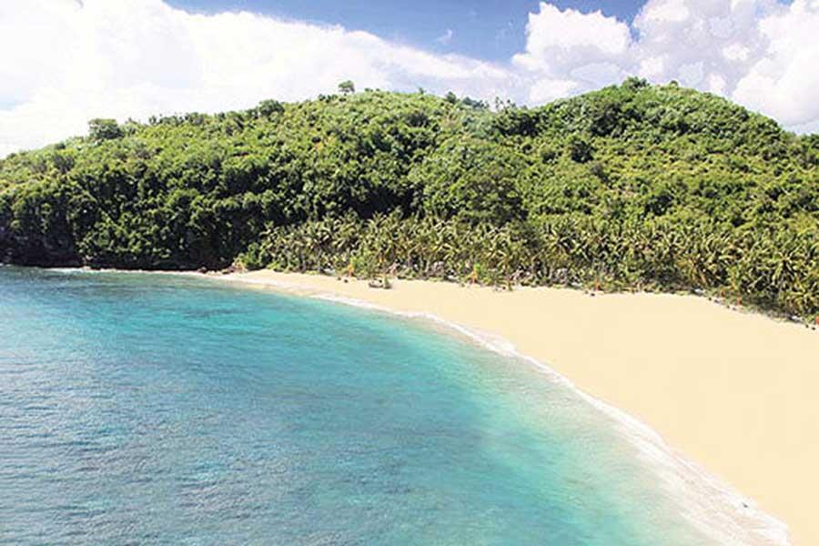 white sandy beach, bali sea cruise, bali hai cruise