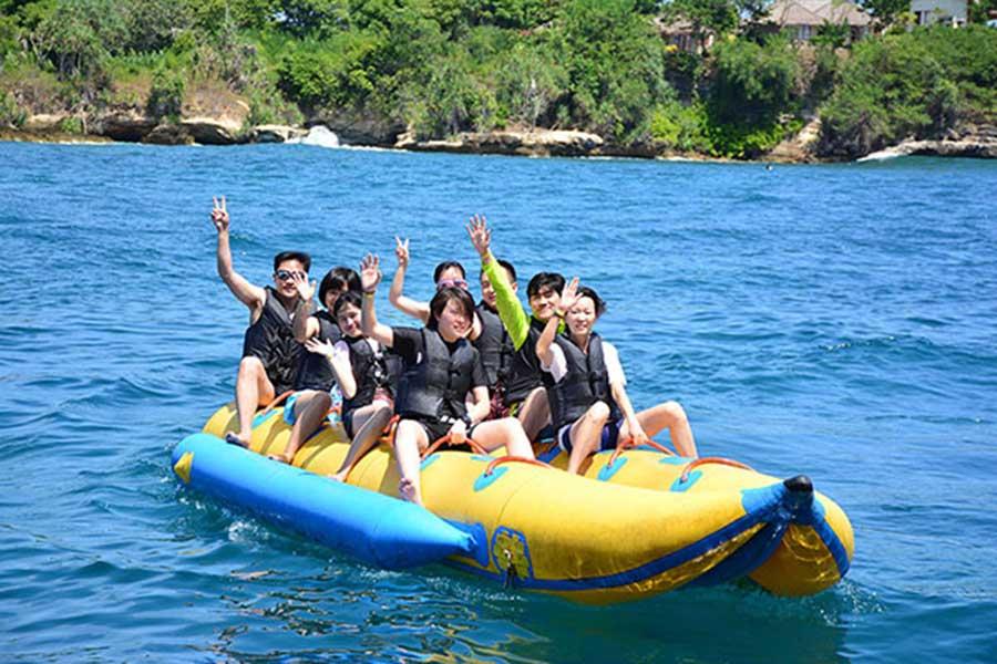 banana boat ride, lembongan island day cruise