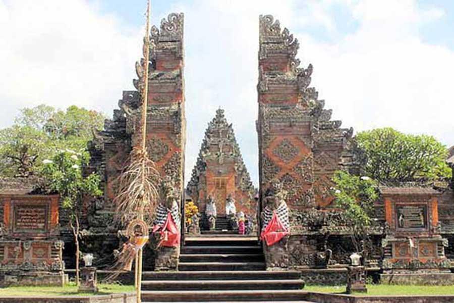 batuan temple, historical temple bali