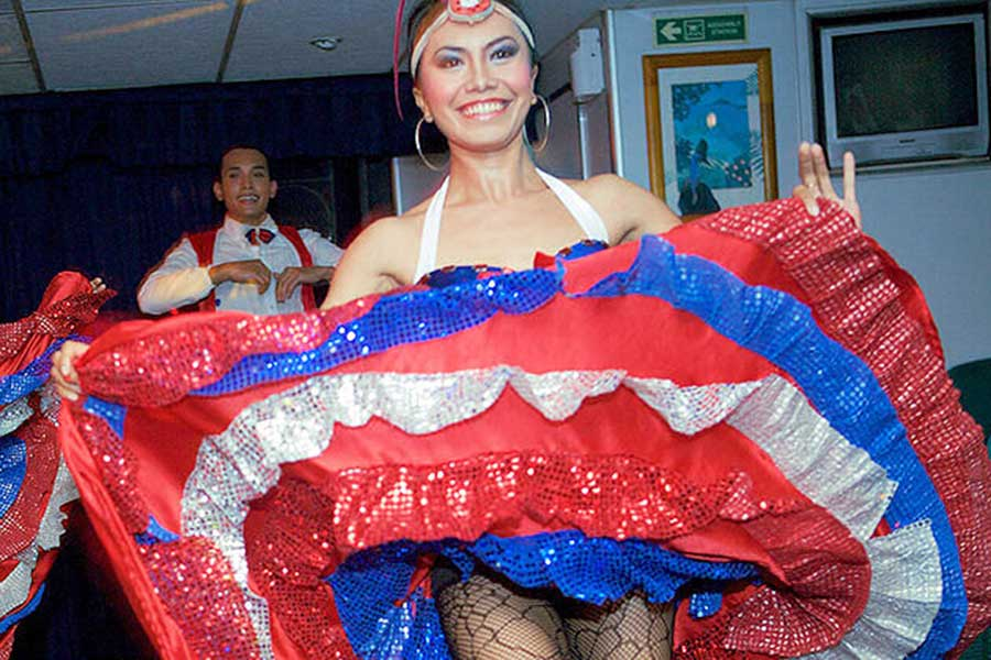 cabaret show, bali hai cruises, sunset cruise