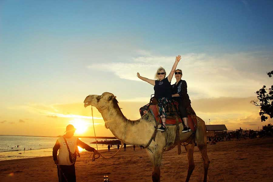 bali camel adventure, camel safari at kelan beach